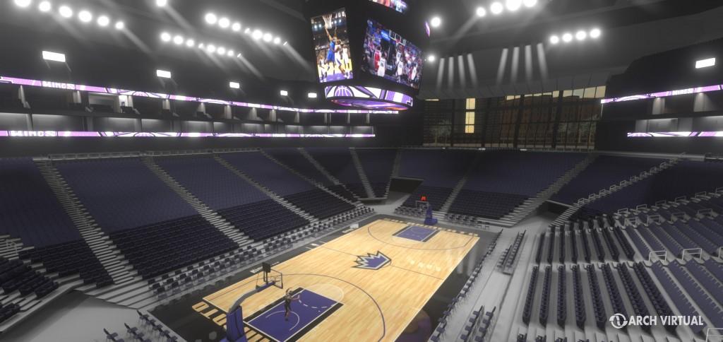 Oculus Rift sports arena for Sacramento Kings