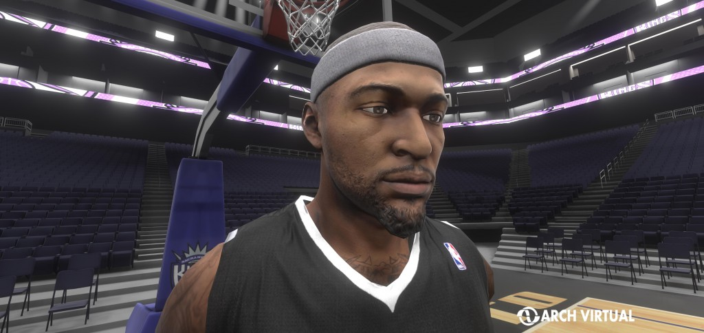 Virtual Boogie Cousins Oculus Rift virtual reality experience for sports stadium