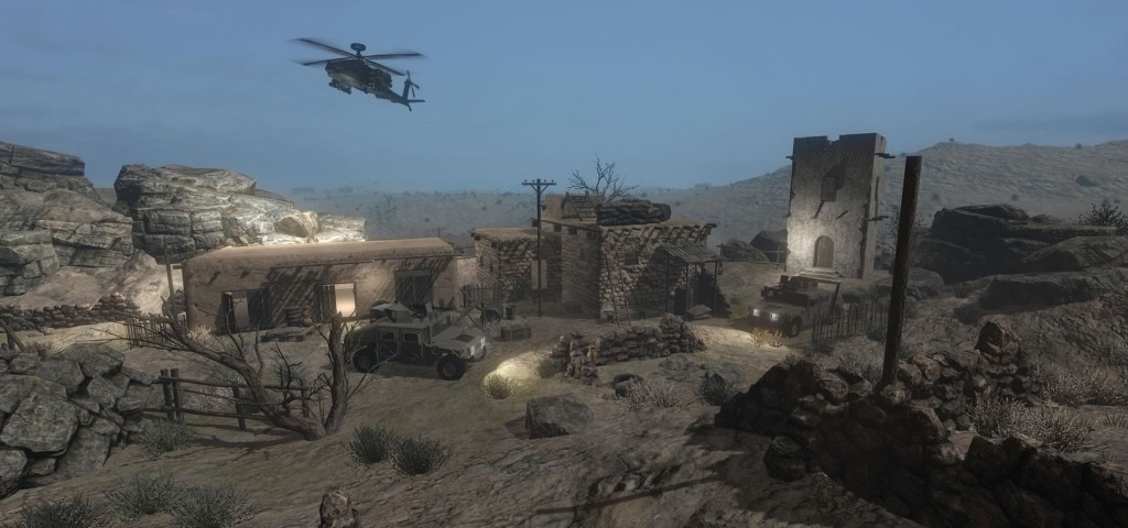 arch virtual reality miliitary simulation