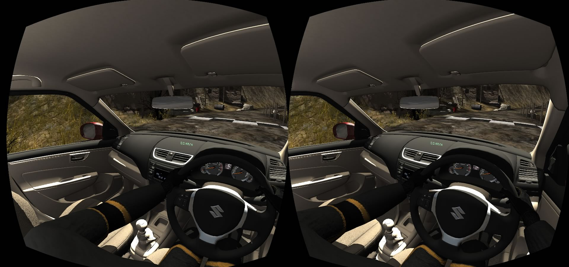 arch virtual reality suzuki driving simulation