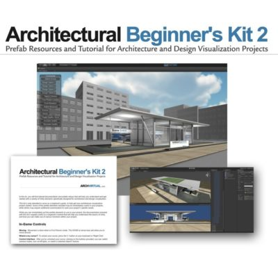 architectural beginners kit unity3d part 2 screenshot