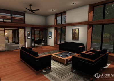 Forest Home Architectural Visualization