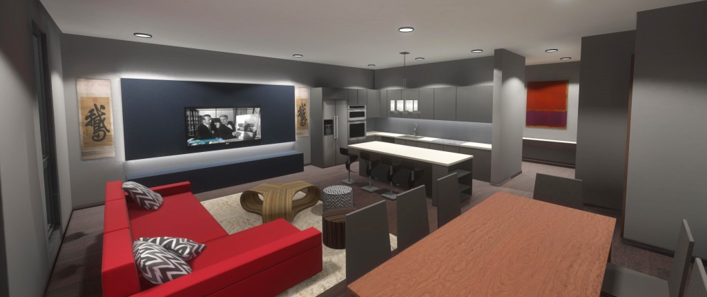 marketing and sales promotion with Oculus Rift VR for real estate development and architectural visualization from BIM / REVIT / CAD plans