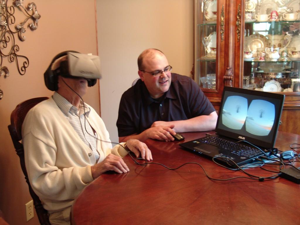 Oculus Rift historic reenactment and military simulation