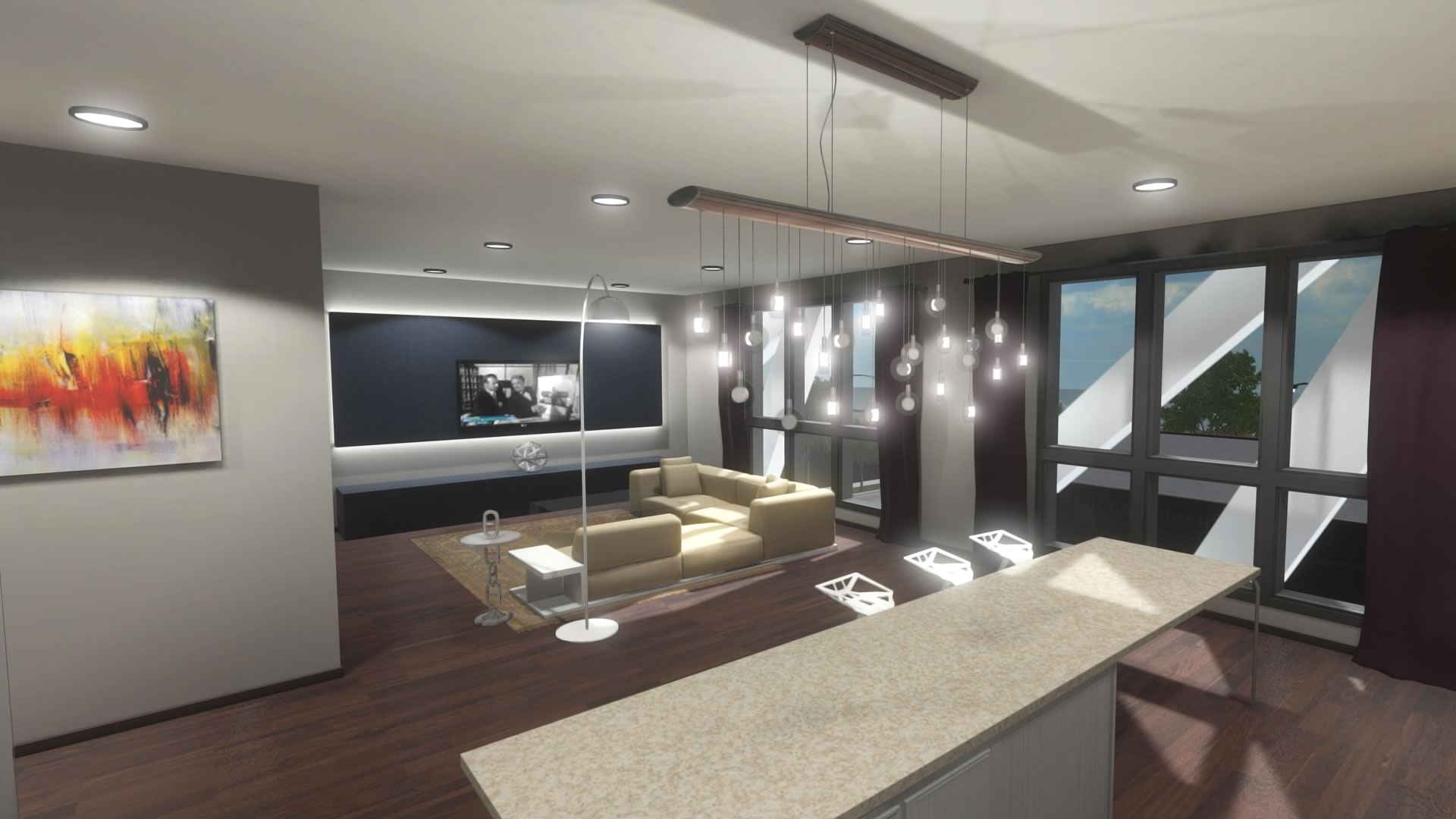 707 western real estate pre sales w the oculus rift dk2 for Virtual interior design
