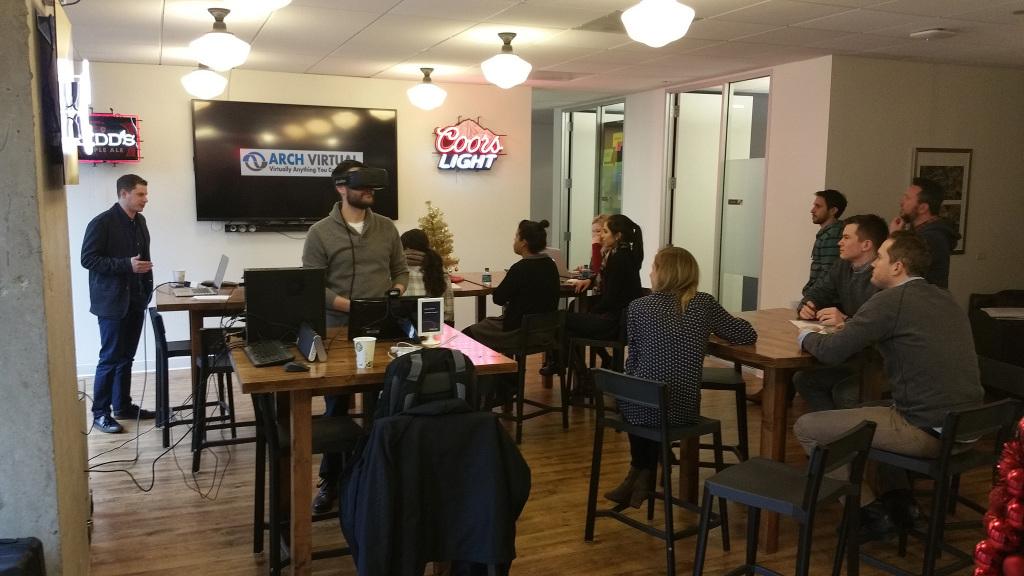 Oculus Rift Chicago presentations