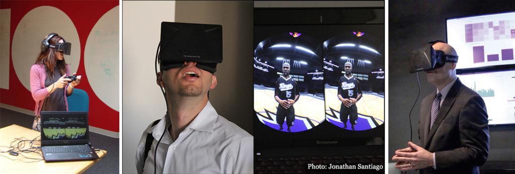 Oculus Rift Sacramento Kings Virtual Experience