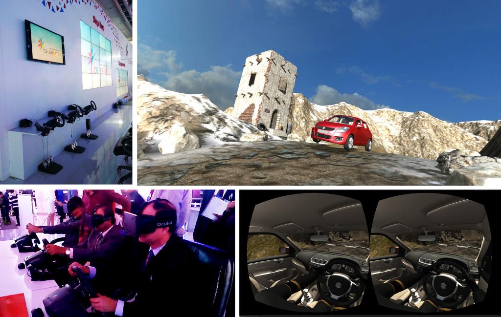 Oculus Rift driving experience for Suzuki