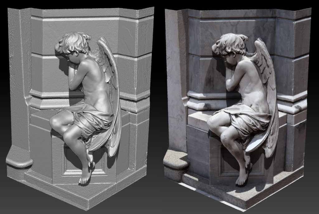 virtual realitiy content created from 3D scans
