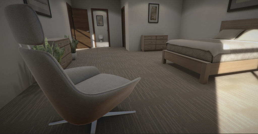 oculus rift DK2 virtual reality experience for architectural visualization and real estate development