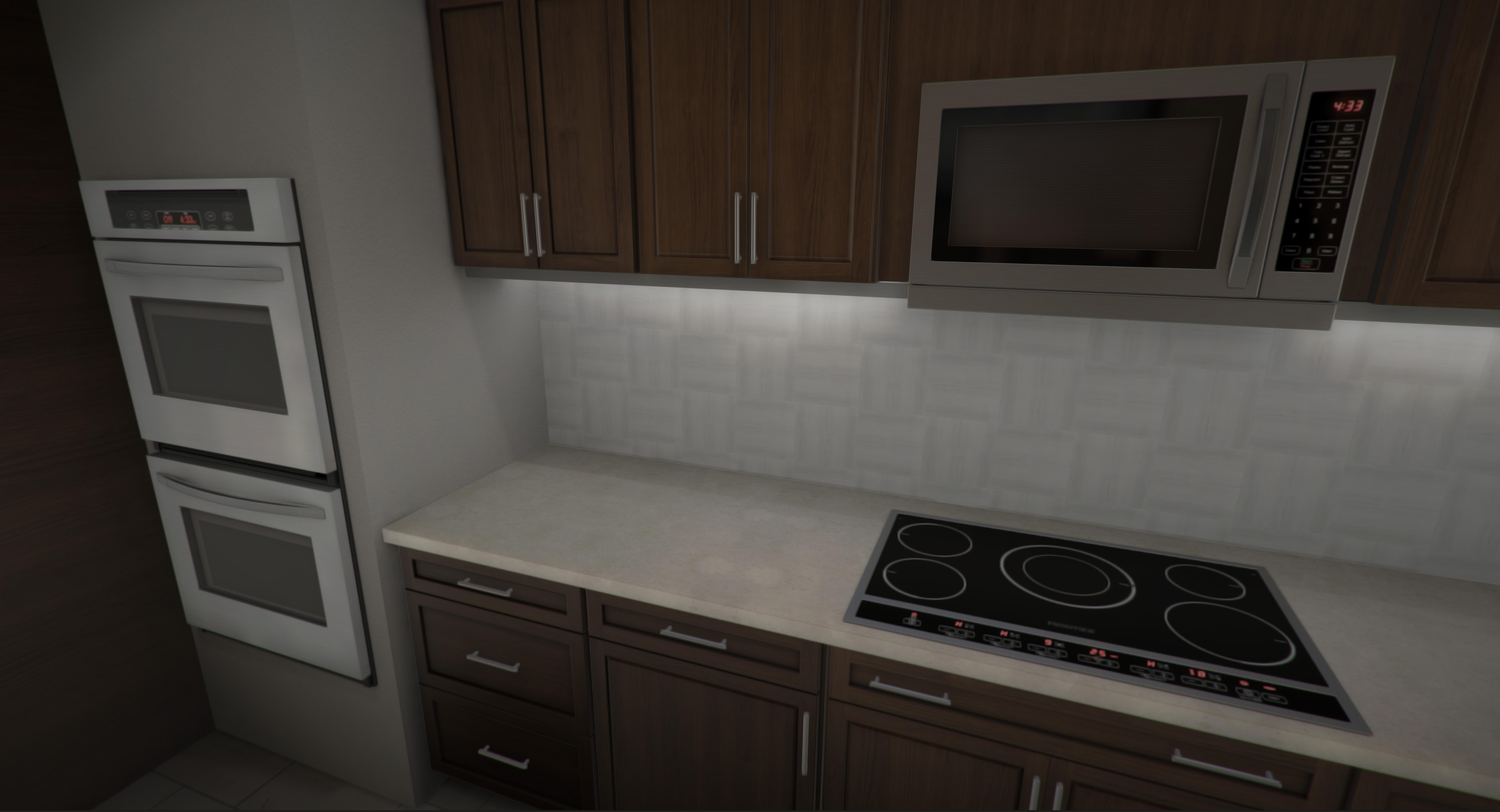 kitchen materials and interior design