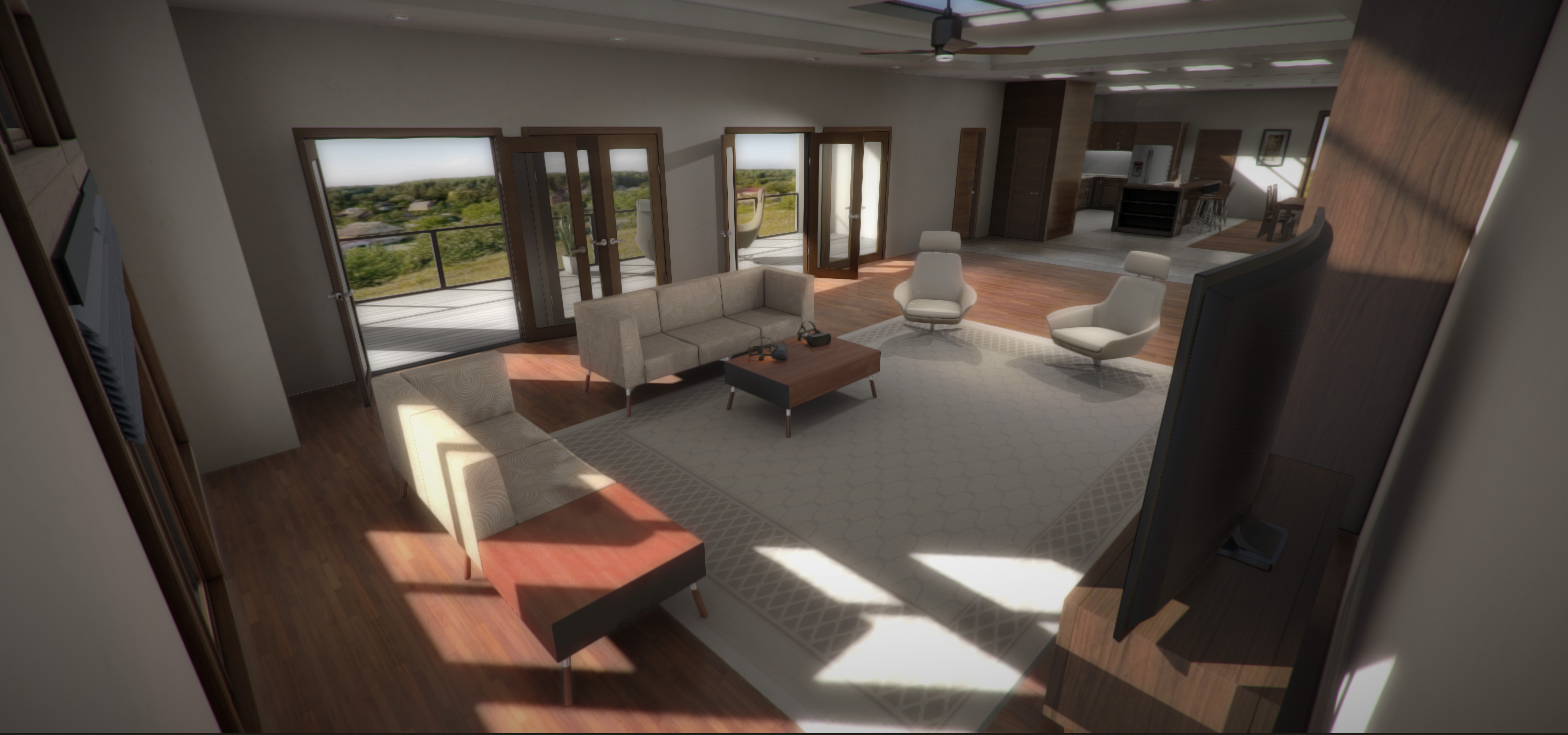 Residential Condo Virtual Reality Architectural Visualization