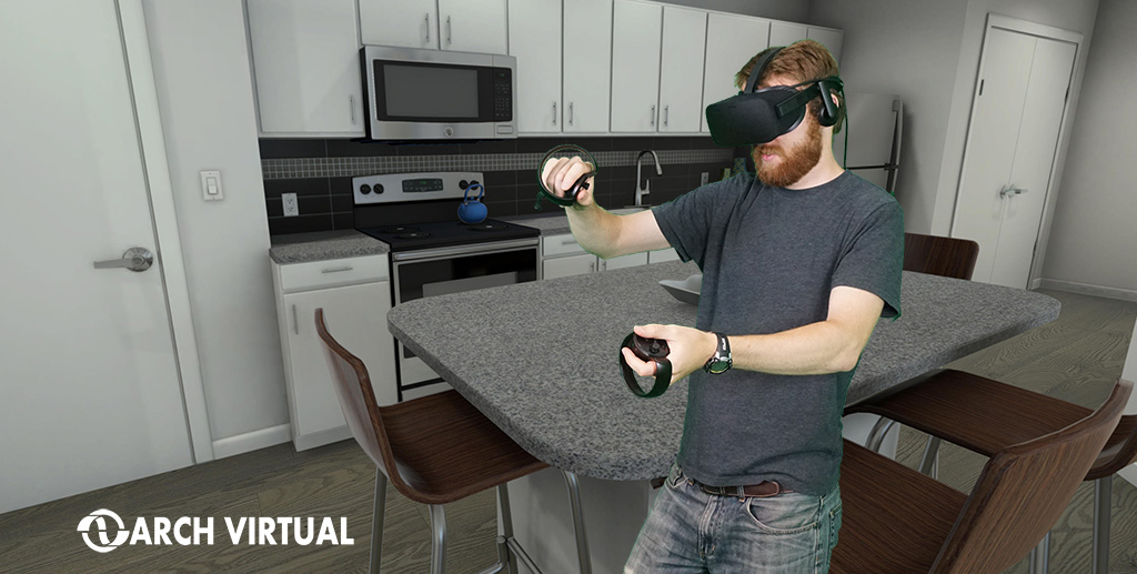 Architectural visualization with Oculus Rift and Touch