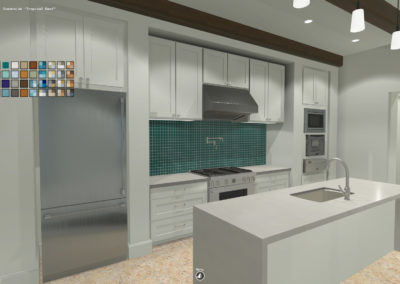 Residential Interior Configurator: Visualize and Save Selections for Finishes, Fixtures and Appliances