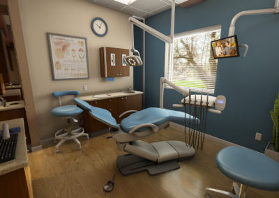 dental equipment visualization in VR