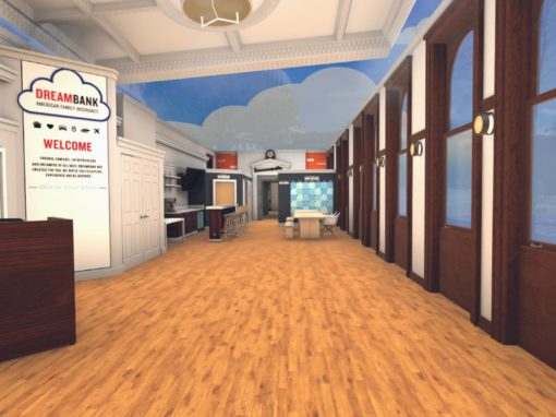 Virtual DreamBank Oculus Rift Experience for American Family Insurance