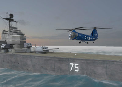 Historical Recreation: Virtual USS Helena CA-75