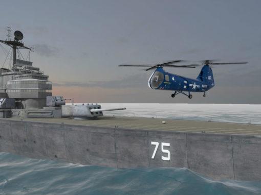 Historical Recreation: Virtual USS Helena CA-75