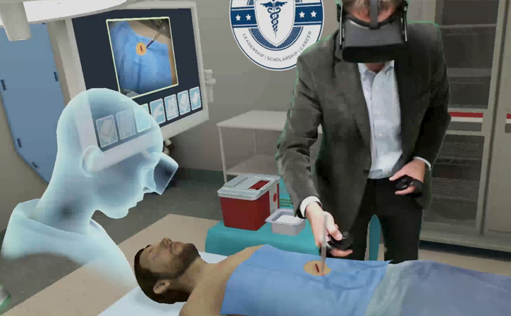 healthcare simulation in VR and AR