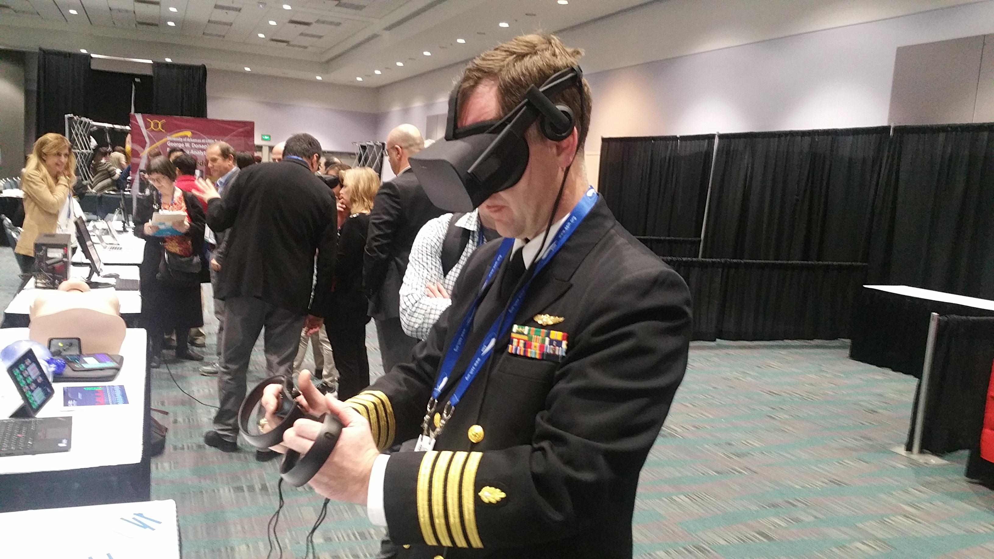 International Meeting on Simulation in Healthcare VR demo Airway Labs