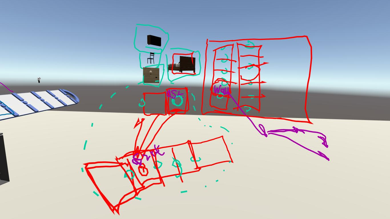 Prototyping design with VR in an Oculus Rift for Immerse Creator