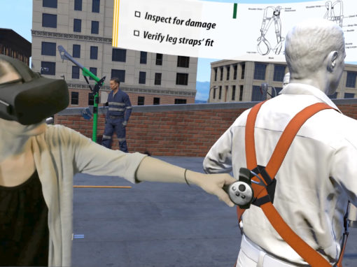 Virtual Reality Training for Safety