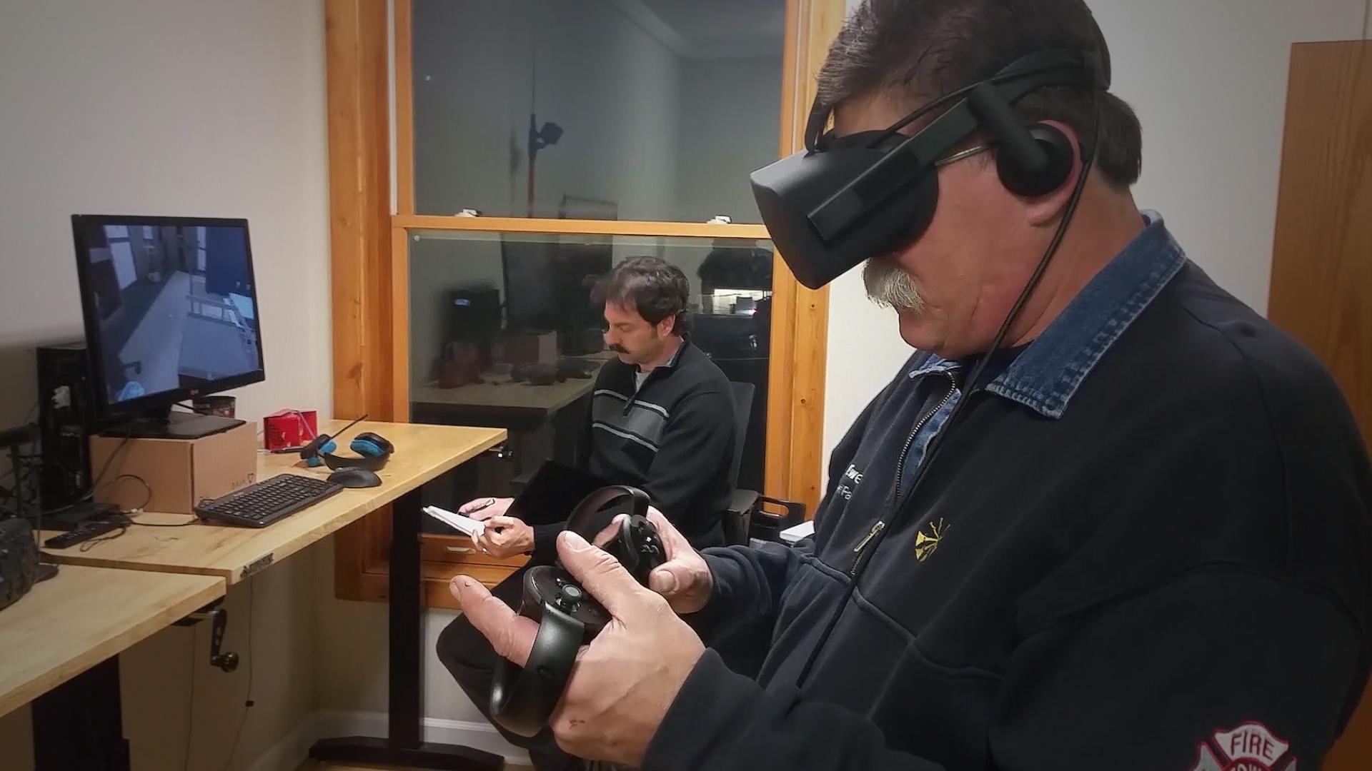 MRI hospital simulation in VR