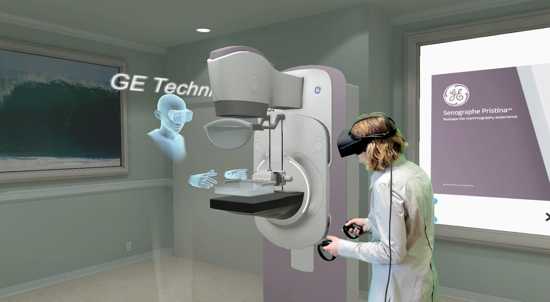 Ge Healthcare Senographe Pristina Mammography System