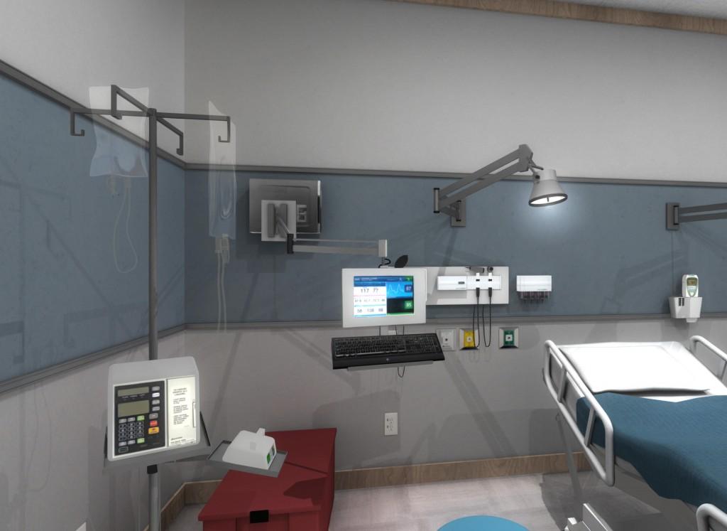 oculus rift medical training simulation for healthcare