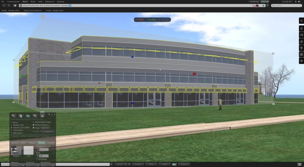 3D architectural dae collada file imported