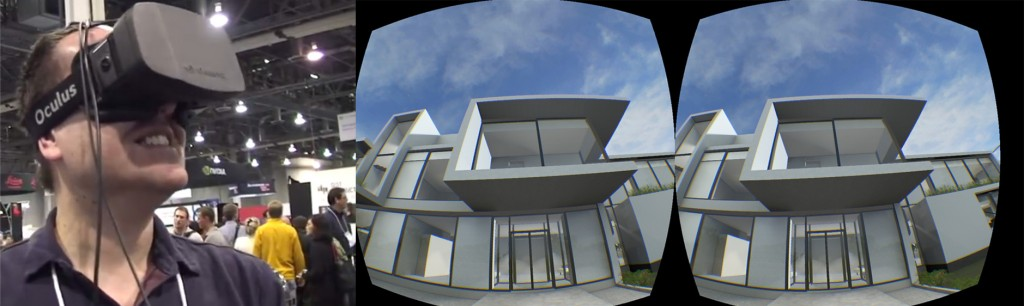 BIM in Oculus Rift VR for real-time architectural visualization - Graphisoft ArchiCAD