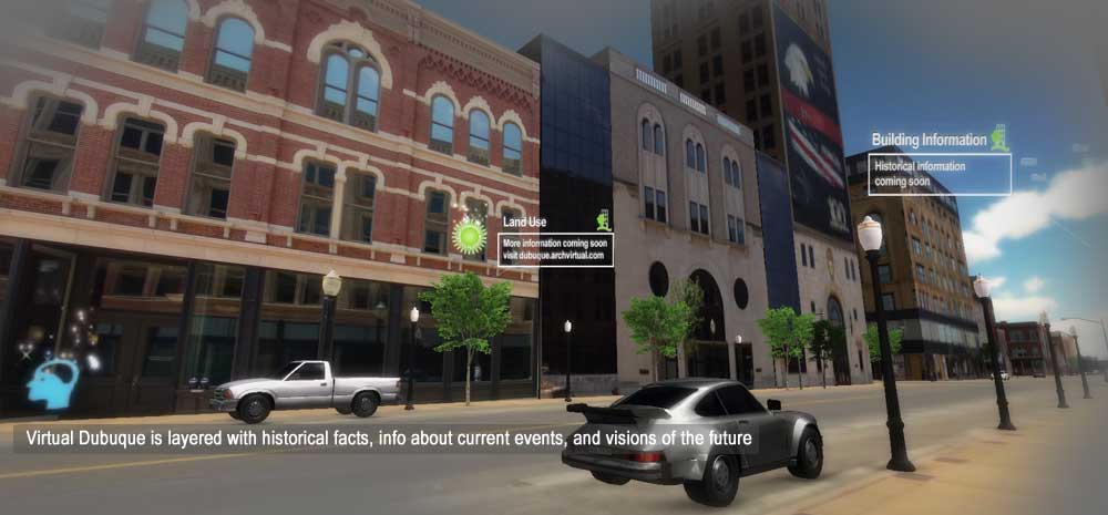 Realtime Cities Initiative: Virtual Dubuque