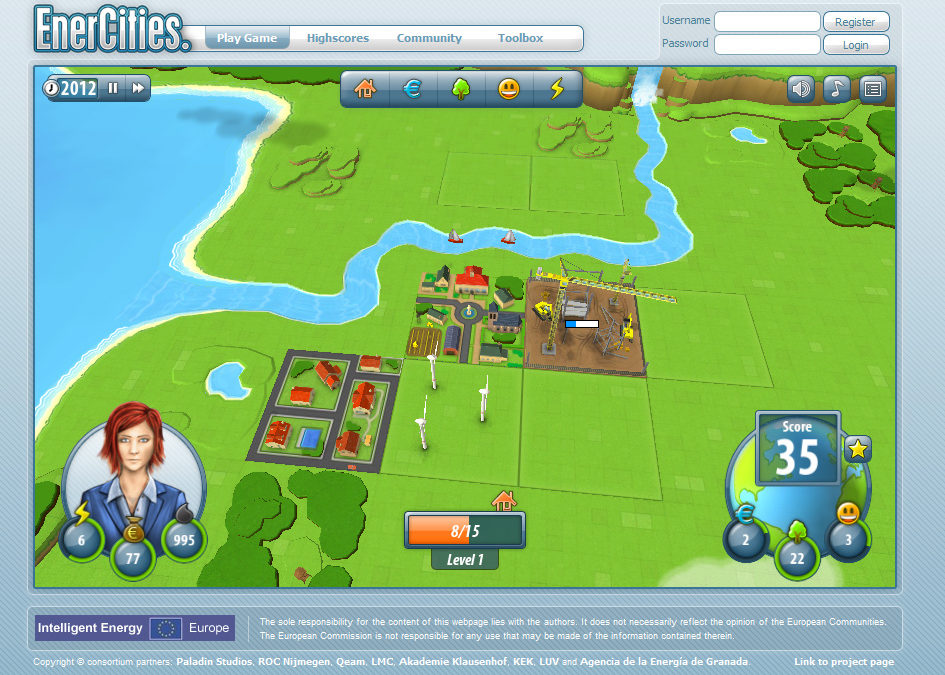 Enercities: Experiencing the Implications of Energy-Related Decisions