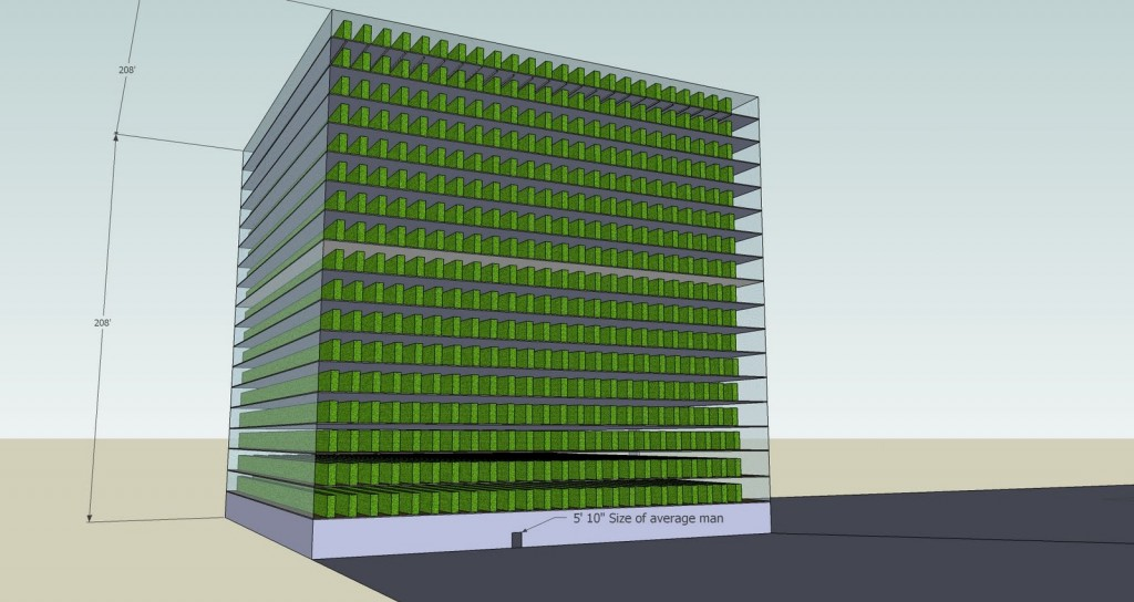 400,000 pounds of tomatoes per acre: prototyping an aquaponics Eco Tower in Second Life