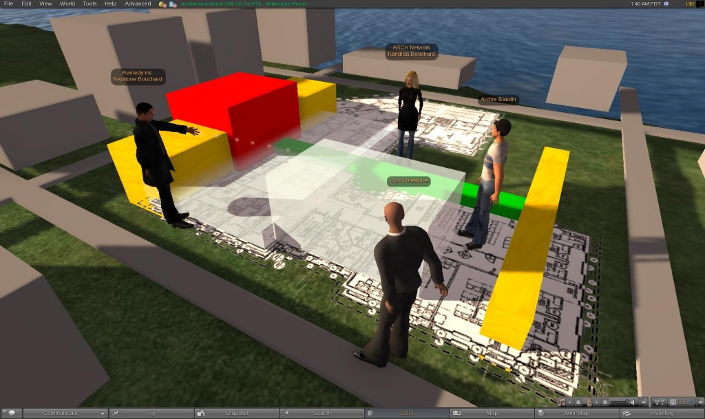 The Learning Curve for Architectural Education in Virtual Worlds