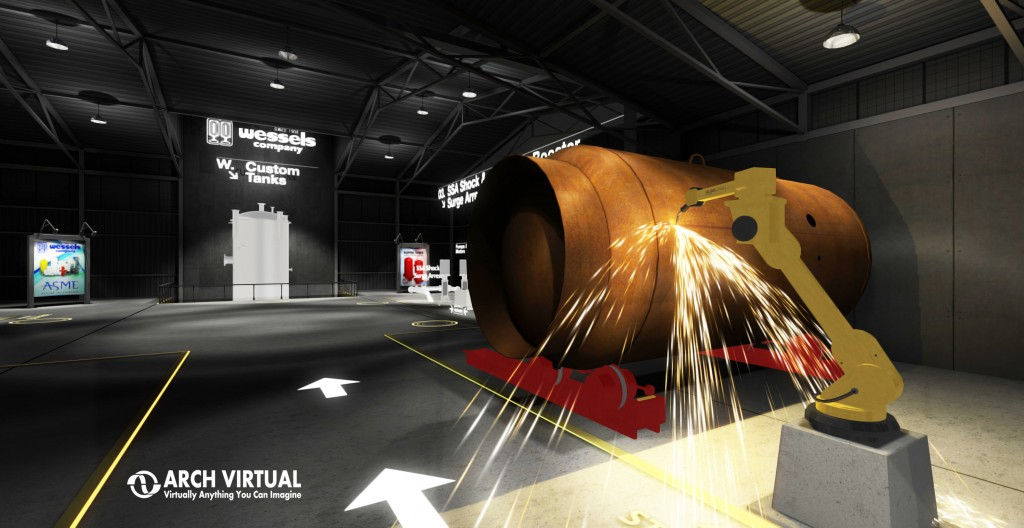 trade show marketing advertising oculus rift virtual reality industry manufacturing