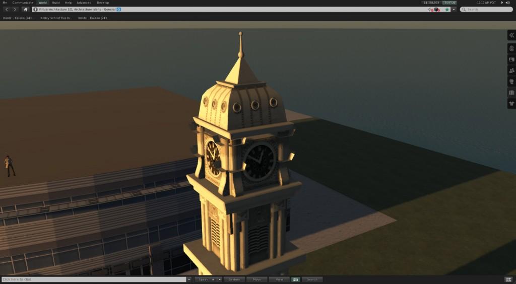 collada architectural model