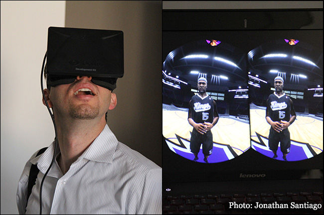 Sacramento Kings Arena Oculus Rift Demo