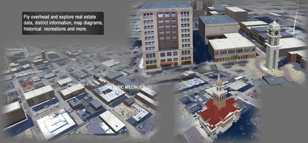 Virtual Cities for architectural visualization and urban planning