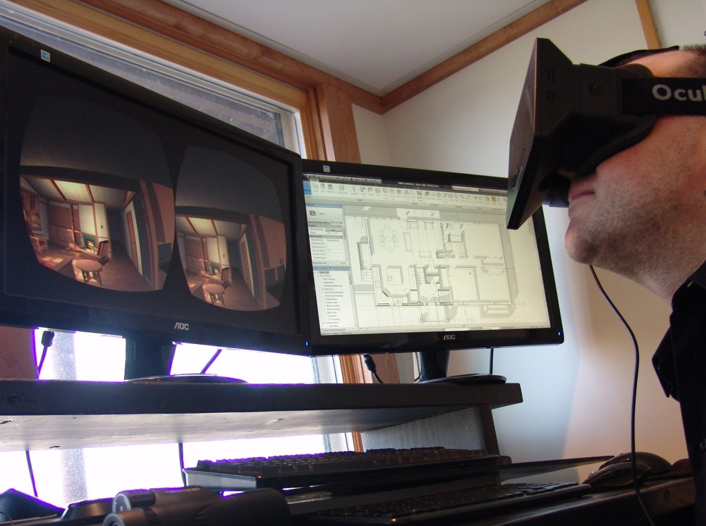 Visualizing BIM with Oculus Rift VR Virtual Reality