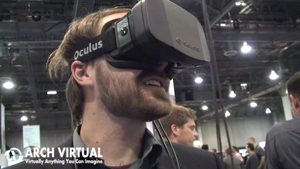 Autodesk University oculus rift reaction video trade show exhibit conference virtual relaity