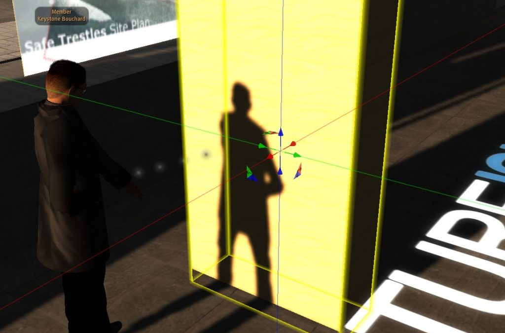 Building with shadows in Second Life: the prim is (still) mightier than the pen