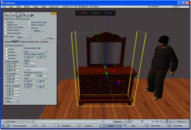 Importing Sketchup Models from Google 3D Warehouse into realXtend