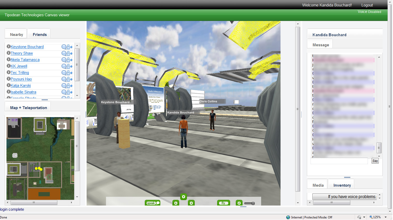 Using Unity3D to Access Second Life and OpenSim on the Web - Arch
