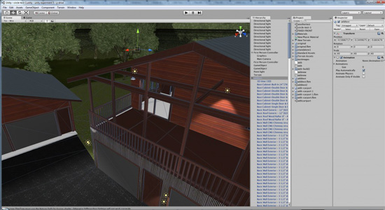 Welcome to my home: first attempts at using Unity3D for